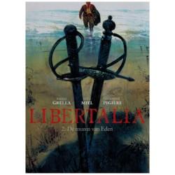 Libertalia 02 HC De muren van Eden