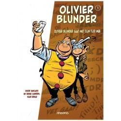 Olivier Blunder  Nieuwe avonturen HC 01 Olivier Blunder gaat met zijn tijd mee (naar Greg)