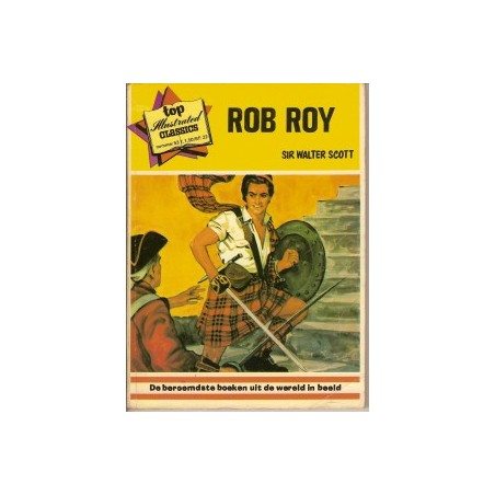 Top Illustrated Classics 53 Rob Roy 1973