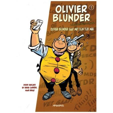 Olivier Blunder  Nieuwe avonturen 01 Olivier Blunder gaat met zijn tijd mee (naar Greg)
