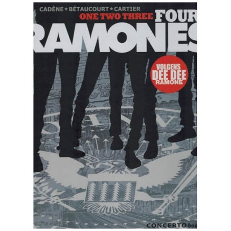 One two three Four Ramones HC volgens Dee Dee Ramone
