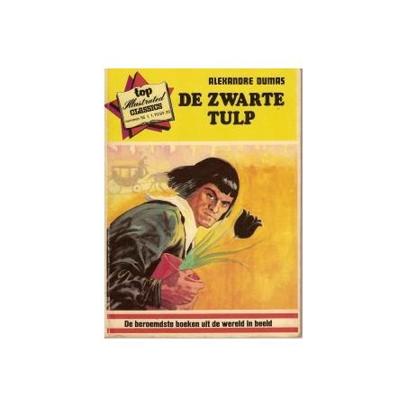 Top Illustrated Classics 55 De zwarte tulp 1974