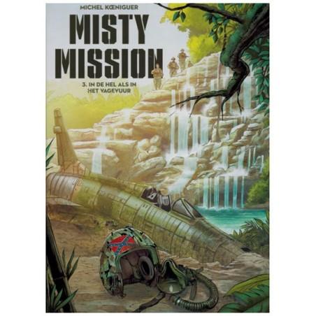 Misty mission  03 HC In de hel als in het vagevuur