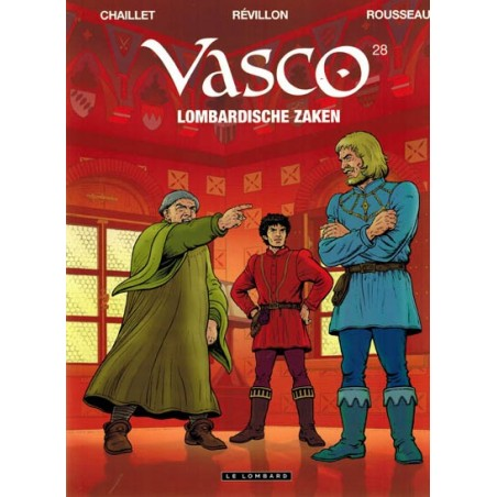 Vasco  28 Lombardische zaken (naar Gilles Chaillet)