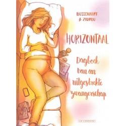 Bosschaert strips HC Horizontaal Dagboek van een uitgestrekte zwangerschap