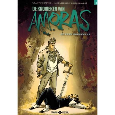 Suske & Wiske   Amoras 09 De zaak Krimson 3 (naar Willy Vandersteen)