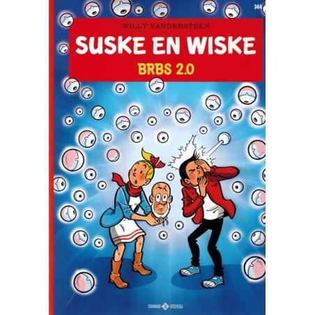 Suske & Wiske  344 BRBS 2.0 (naar Willy Vandersteen)