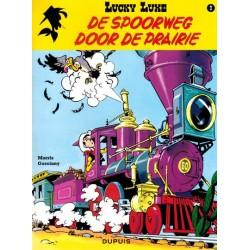 Lucky Luke   09 De spoorweg door de prairie