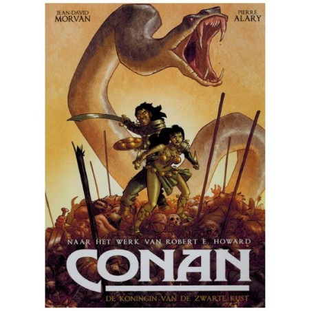 Conan    EU 01 HC De koningin van de zwarte kust (naar Robert E. Howard)*