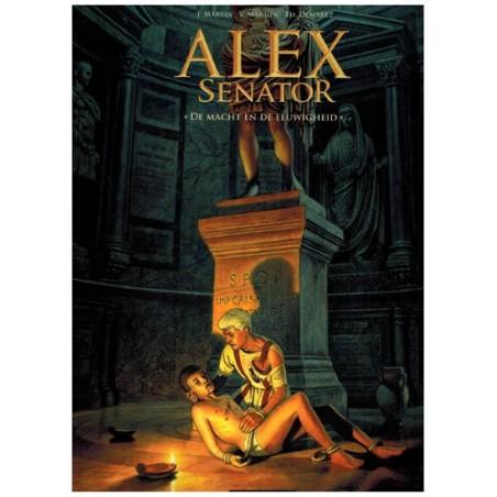 Alex  Senator 07 De macht en de eeuwigheid (naar Jacques Martin)