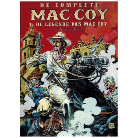 Mac Coy  integraal Luxe HC 01 De legende van Mac Coy