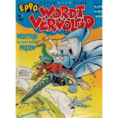 Eppo 1987 Eppo Wordt Vervolgd jaargang COMPLEET @