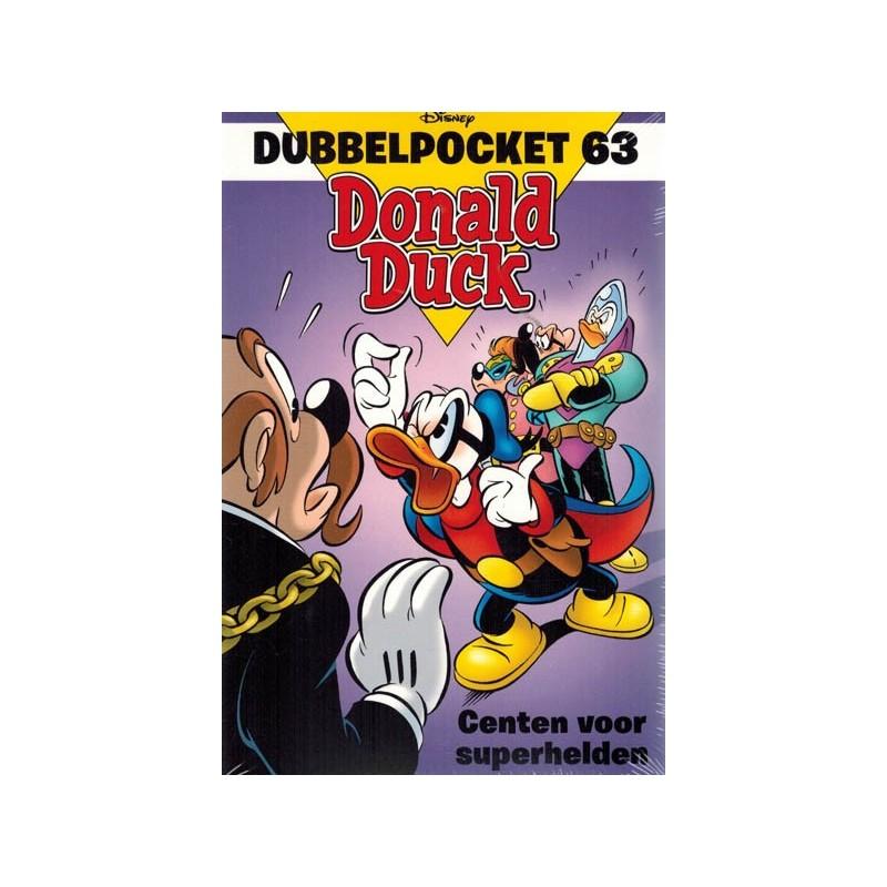 Donald Duck  Dubbel pocket 63 Centen voor superhelden