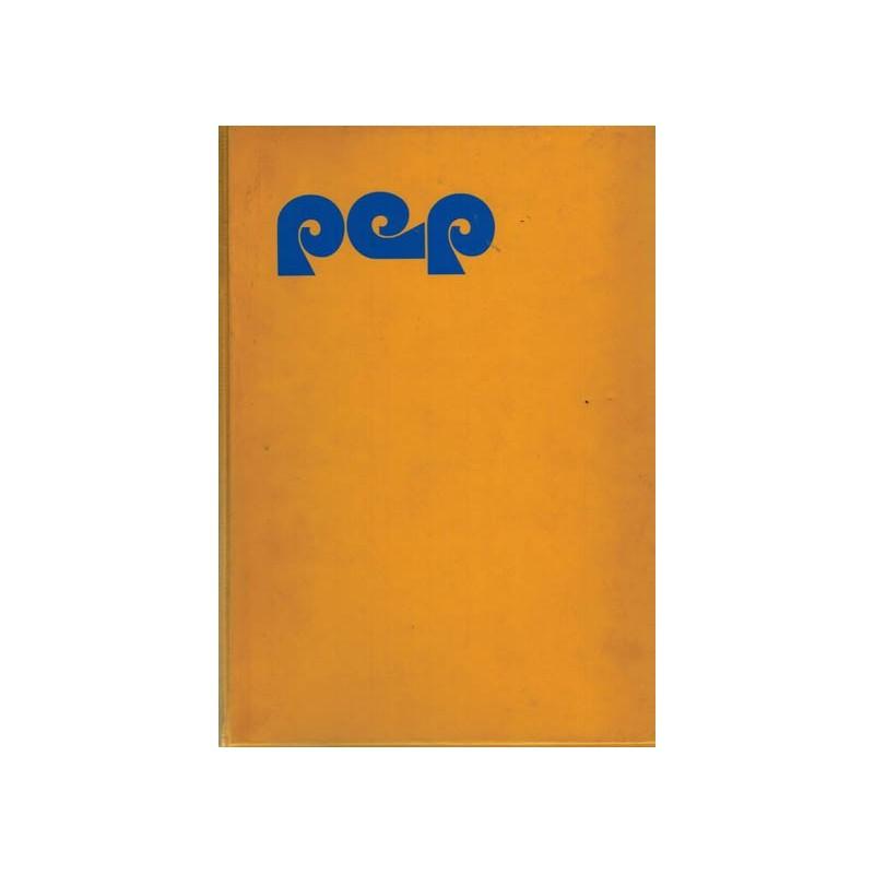 Pep set 1970-1974 % 5 jaargangen in 10 originele Pep verzamelbanden COMPLEET