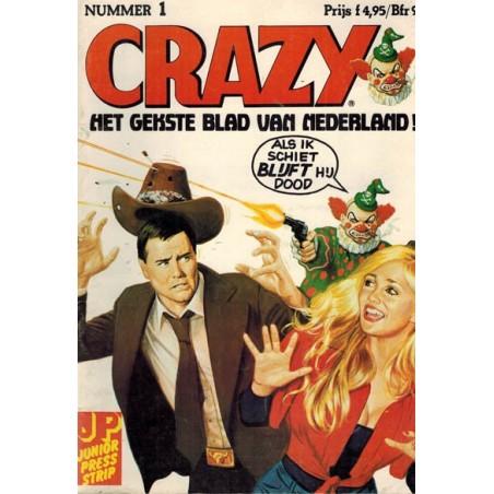 Crazy set deel 1 t/m 4 1e drukken 1982-1983