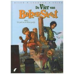 Vier van Bakerstreet HC 01 De zaak van het blauwe gordijn