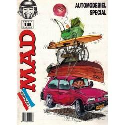 Mad Het mafste uit Mad 18 Automodebiel 1e druk 1990