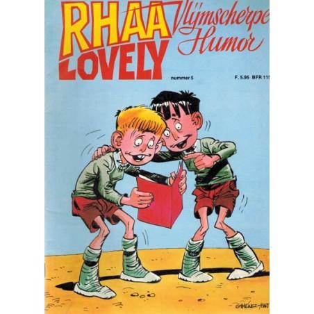 Rhaa Lovely 05 1e druk 1983
