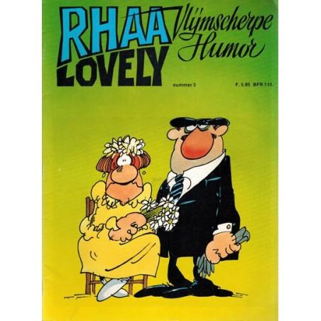 Rhaa Lovely 03 1e druk 1982