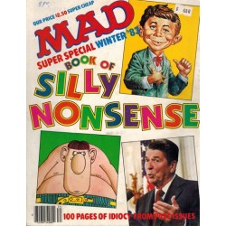 Mad USA Super special 45 1983 Winter Book of silly nonsense