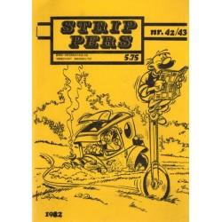 Strip Pers 42/43 1e druk 1982