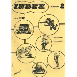 Strip Pers Index 1 Robbedoes 1e druk z.j.