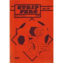 Strip Pers 40 1e druk 1982