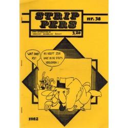 Strip Pers 38 1e druk 1982