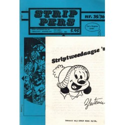 Strip Pers 35/36 + bijlage 1e druk 1981