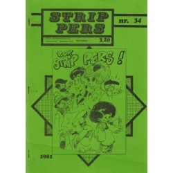 Strip Pers 34 1e druk 1981