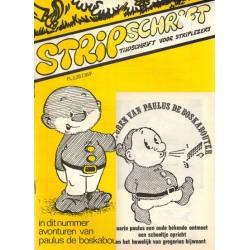 Stripschrift 019 1e druk 1970 met bijlage Avonturen van Paulus de Boskabouter