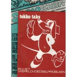 Stripschrift 014 1e druk 1970 met bijlage Tekko Taks en het wereldvoedselprobleem