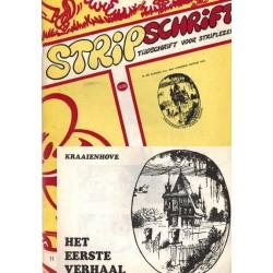 Stripschrift 011 1e druk 1969 met bijlage Kraaienhove Het eerste verhaal