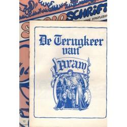 Stripschrift 010 1e druk 1969 met bijlage De terugkeer van Aram