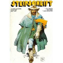 Stripschrift 124 1e druk 1979
