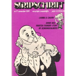 Stripschrift 071 1e druk 1974