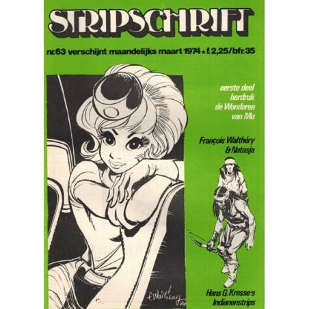 Stripschrift 063 1e druk 1974