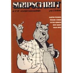 Stripschrift 057/058 1e druk 1973