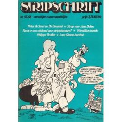 Stripschrift 055/056 1e druk 1973