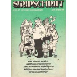 Stripschrift 051/052 1e druk 1973