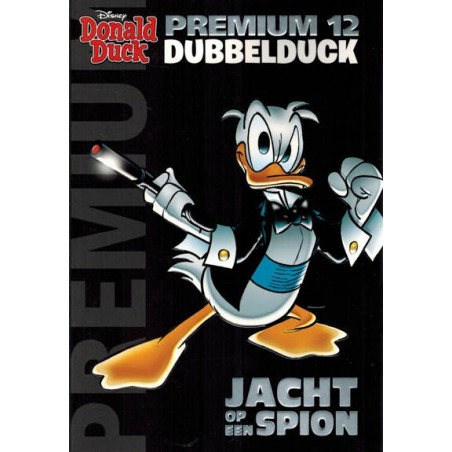 Donald Duck  Premium pocket 12 Dubbelduck Jacht op een spion