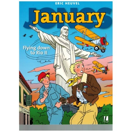 January Jones  10 Flying to Rio II