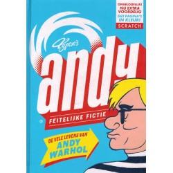 Typex strips HC Andy feitelijke fictie De vele levens van Andy Warhol