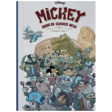 Disney EU 05 HC Mickey Mouse 4 Door de eeuwen heen*
