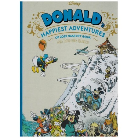 Disney EU 04 HC Donald Duck 1 Happiest adventures Op zoek naar geluk*
