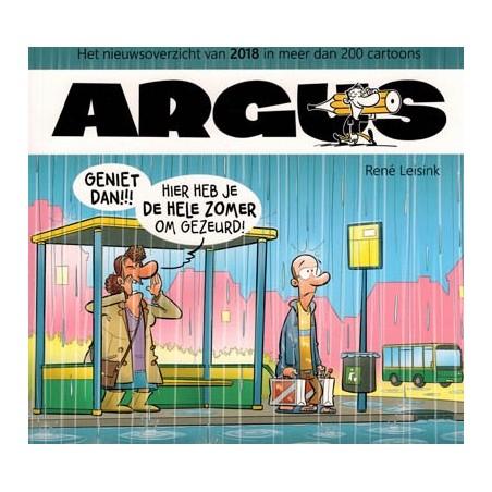 Argus 2018 Het nieuwsoverzicht in meer dan 200 cartoons