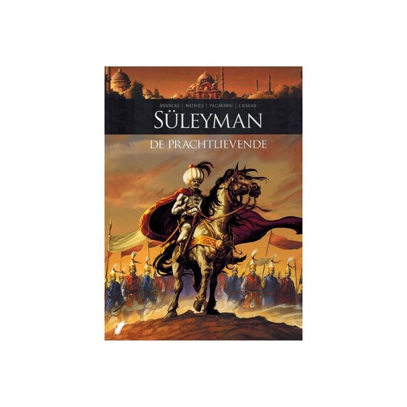 Zij schreven geschiedenis  HC 08 Suleyman de prachtlievende