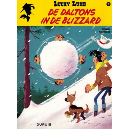 Lucky Luke    22 De Daltons in de blizzard
