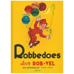Robbedoes  door Rob Vel integraal HC 1938-1943