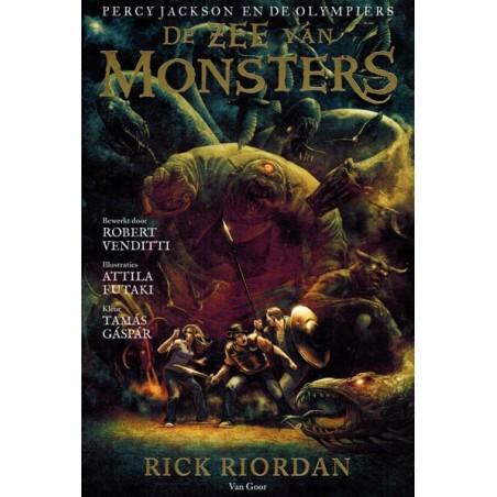 Percy Jackson en de Olympiers 02 De zee van monsters(naar Rick Riordan)